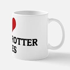 I Love Russian Trotter Horses Mug