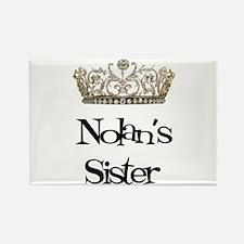 Nolan's Sister Rectangle Magnet