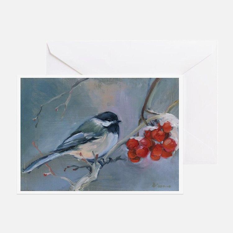 Cute Original oil painting reproduction Greeting Card