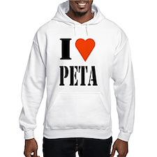 I Love PETA Hoodie