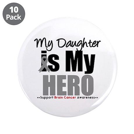 "BrainCancerHero Daughter 3.5"" Button (10 pack)"