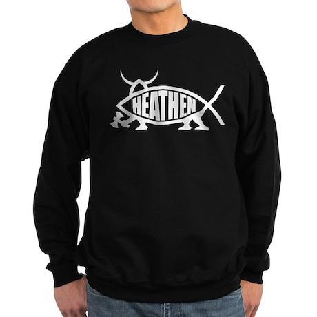 Heathen Fish Sweatshirt (dark)