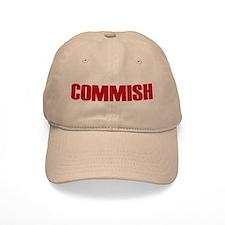 Commish (Red) Baseball Cap