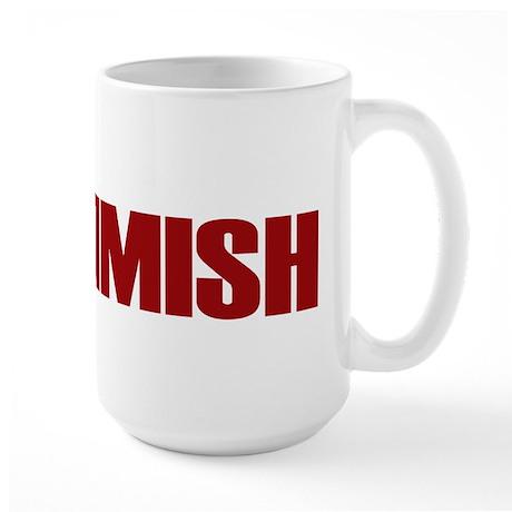 Commish (Red) Large Mug