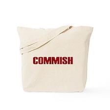 Commish (Red) Tote Bag