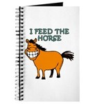 I Feed The Horse Journal