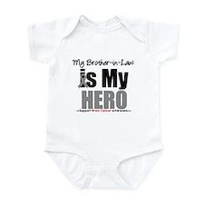 BrainCancerHero BrotherinLaw Infant Bodysuit