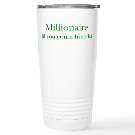 Millionaire - Friends Stainless Steel Travel Mug