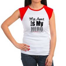 BrainCancerHero Aunt Women's Cap Sleeve T-Shirt