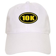 10 K Runner Oval Baseball Cap