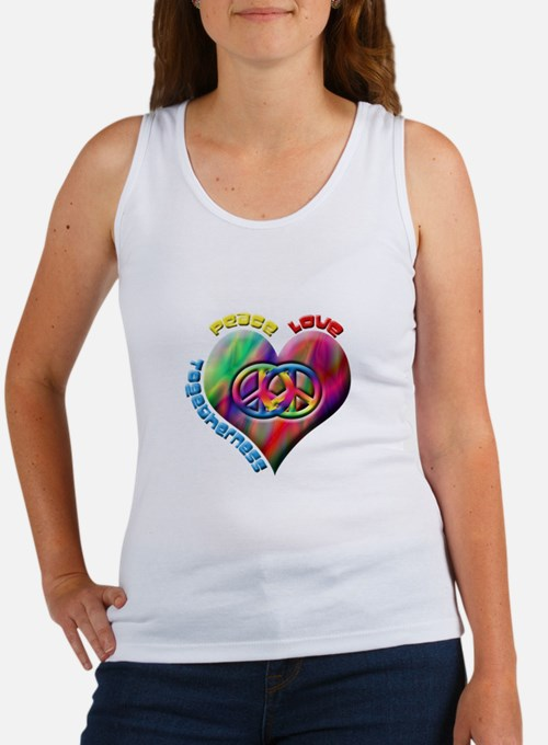 Peace Love Togetherness Women's Tank Top