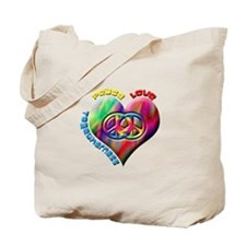 Peace Love Togetherness Tote Bag