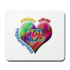 Peace Love Togetherness Mousepad