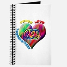 Peace Love Togetherness Journal