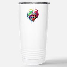 Peace Love Togetherness Travel Mug