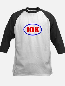 10 K Runner Oval Kids Baseball Jersey