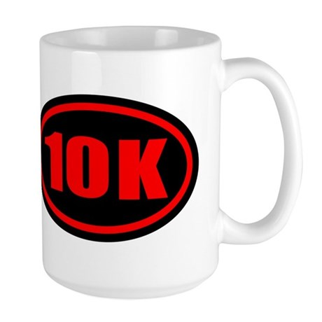 10 K Runner Oval Large Mug