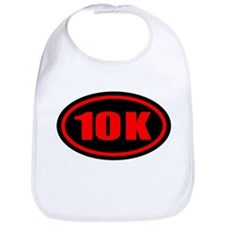10 K Runner Oval Bib
