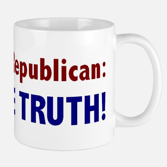Tell the Truth! Mug