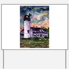 Chatham Cape Cod Lighthouse Painting Yard Sign