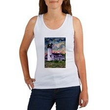 Chatham Cape Cod Lighthouse Painting Women's Tank