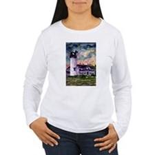 Chatham Cape Cod Lighthouse Painting T-Shirt