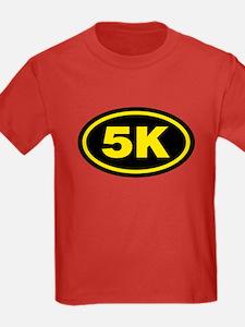 5 K Runner Oval T