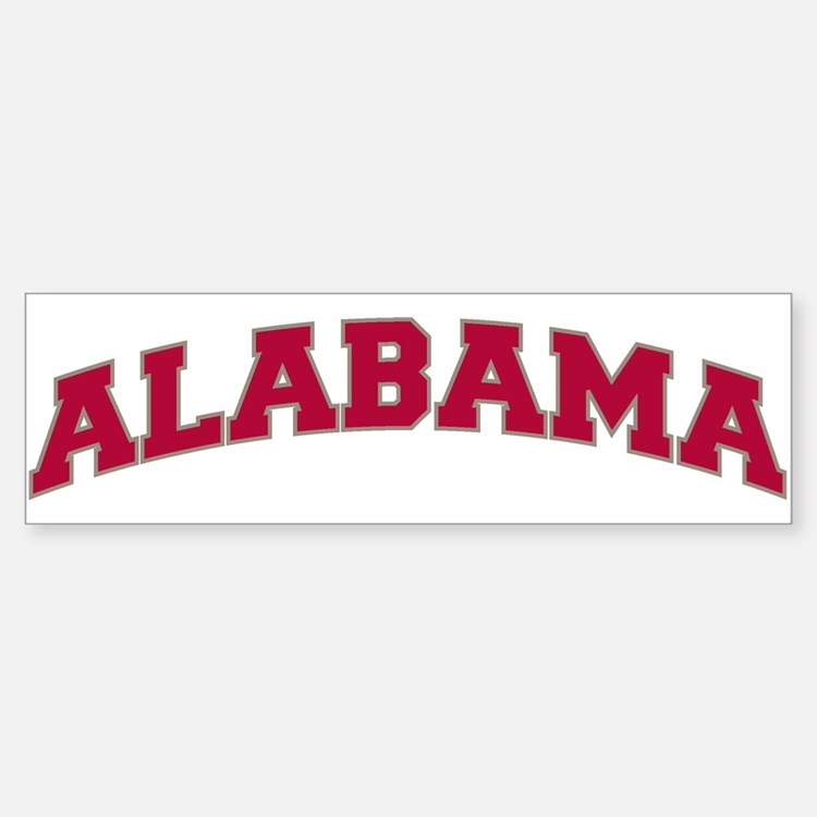 ALABAMA Bumper Bumper Bumper Sticker