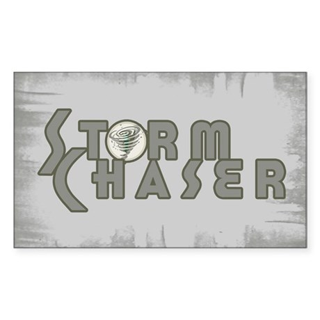 Storm Chaser 4 Rectangle Sticker