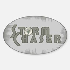Storm Chaser 4 Oval Decal