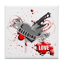 BLEEDING LOVE V4 Tile Coaster