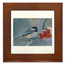 Little Birdie Framed Tile
