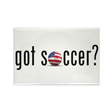 got soccer (USA)? Rectangle Magnet