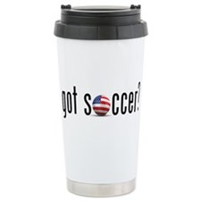 got soccer (USA)? Ceramic Travel Mug