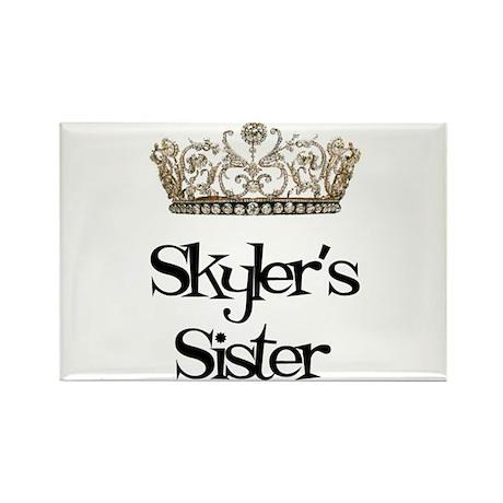 Skyler's Sister Rectangle Magnet