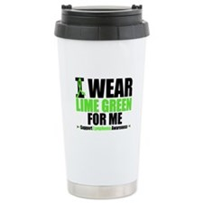 I Wear Lime Green For Me Travel Mug