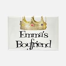 Emma's Boyfriend Rectangle Magnet