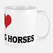I Love Oldenburg Horses Mug