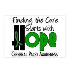 HOPE Cerebral Palsy 4 Postcards (Package of 8)