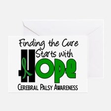 HOPE Cerebral Palsy 4 Greeting Card