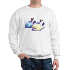 Retro Pugs Sweatshirt