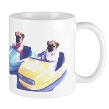 Retro Pugs Mug