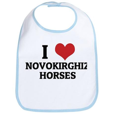 I love Novokirghiz Horses Bib