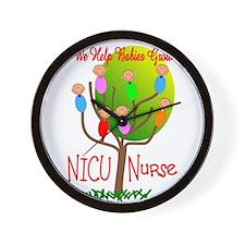 NICU Nurse Wall Clock