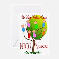 NICU Nurse Greeting Card