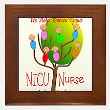 NICU Nurse Framed Tile