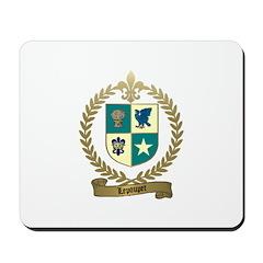 LEPOUPET Family Crest Mousepad