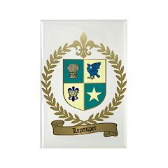 LEPOUPET Family Crest Rectangle Magnet
