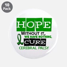 "HOPE Cerebral Palsy 2 3.5"" Button (10 pack)"