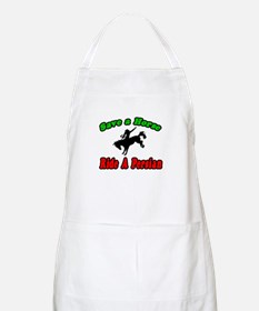 """Save Horse, Ride Persian"" BBQ Apron"
